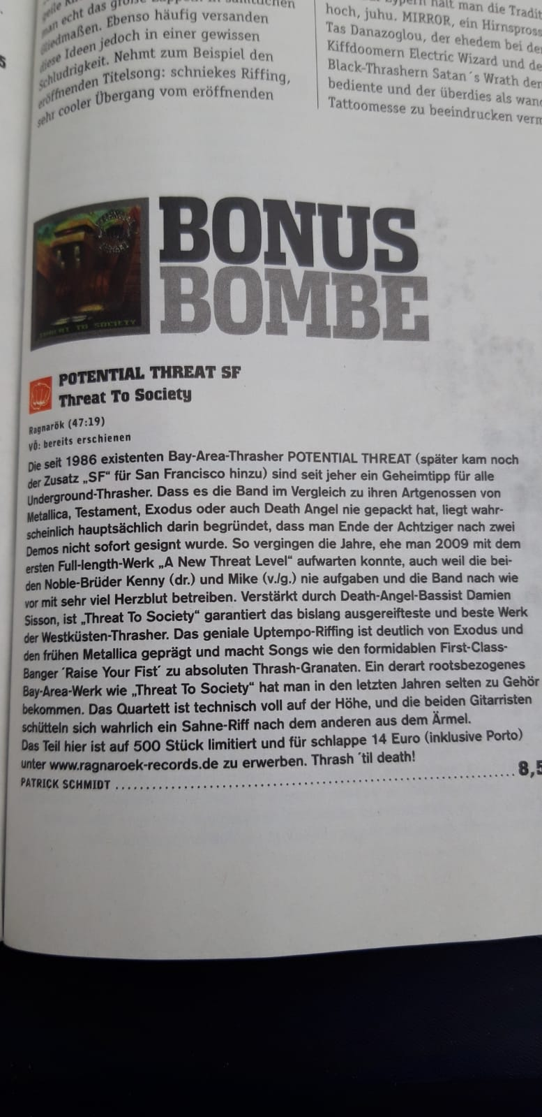5 Bonus Bombe PT SF in Rock Hard